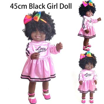 African Black Girl Play Dolls For Kids