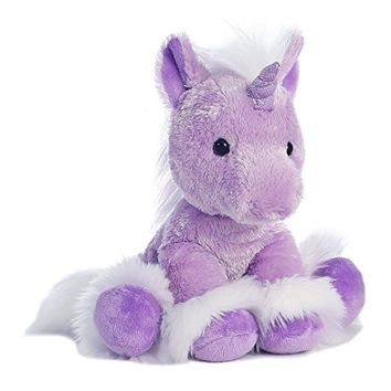 Aurora World Dreaming of You Unicorn Plush, Purple, Small