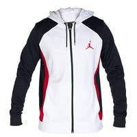 JORDAN FLIGHT DRI FIT HOODIE - White | Jimmy Jazz - 642241100