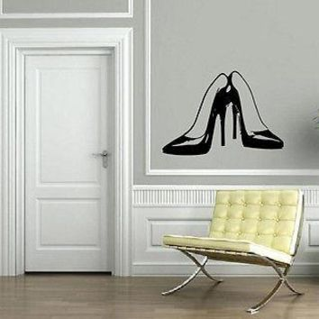 Wall Stickers Vinyl Decal Pair of Stilettos Hot High Heel Shoes Fashion Unique Gift EM564