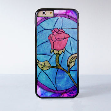 Beauty and Beast Plastic Case Cover for Apple iPhone 6 6 Plus 4 4s 5 5s 5c