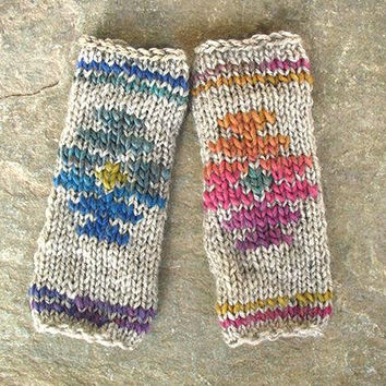 Fingerless gloves, Knit fingerless gloves, fingerless mittens, fingerless handwarmers, fingerless gloves women, arm warmers, Boho ethnik