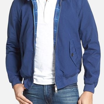 Men's Baracuta 'G9' Micro Herringbone Harrington Jacket