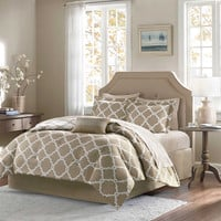 Madison Park Essentials Merritt Reversible Comforter Set