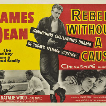 Rebel Without a Cause 11x14 Movie Poster (1955)
