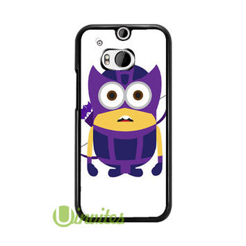 Despicable Me Minion Hawkey  Phone Cases for iPhone 4/4s, 5/5s, 5c, 6, 6 plus, Samsung Galaxy S3, S4, S5, S6, iPod 4, 5, HTC One M7, HTC One M8, HTC One X