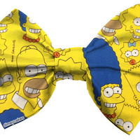Simpsons Hair Bow