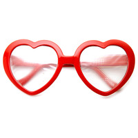 Heart Shape Party Rave EDM Rainbow Diffraction Lens Glasses 9357
