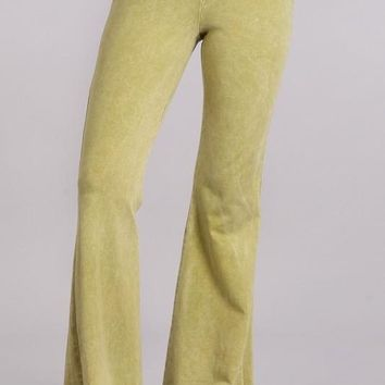 Chatoyant Summer Colors! Mineral Wash Bell Bottoms