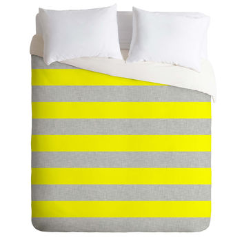 Holli Zollinger Bright Stripe Duvet Cover