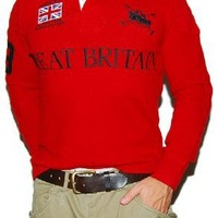 Polo Ralph Lauren Mercer Mens Match Big Pony Sweater Small