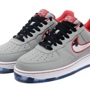 qiyif Nike Air Force 1 AF1 Grey Camouflage For Women Men Running Sport Casual Shoes Sneakers