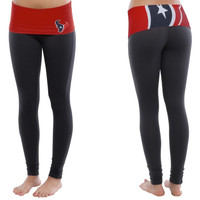 Houston Texans Women's Sublime Knit Legging – Blue