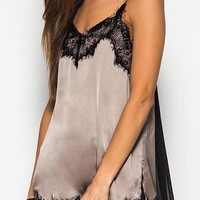 All About The Slip Satin Lace Cami