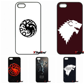 Game of Thrones Winter Is Coming Stark phone case For Samsung Galaxy Note 2 3 4 5 S2 S3 S4 S5 MINI S6 Active S7 edge
