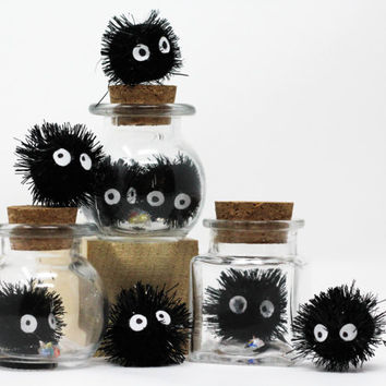 Spirited Away Soot Sprite in a Jar