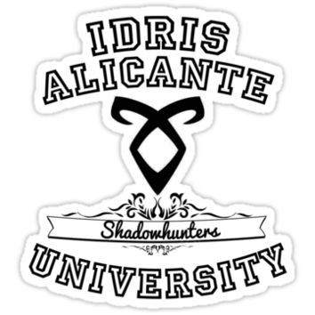 IDRIS UNIVERSITY. Shadowhunters - Mortal Instruments T-Shirts & Hoodie