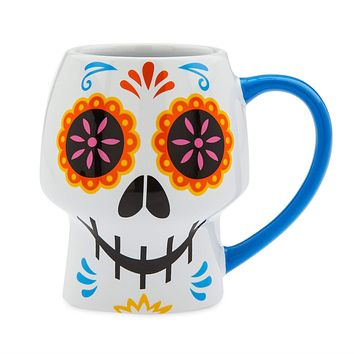 Disney Store Coco Skull Coffee Mug New with Box
