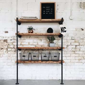 Wall Mount Industrial Shelving Unit