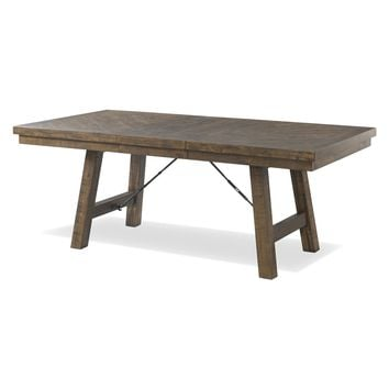 Mariposa Extendable Dining Table WALNUT