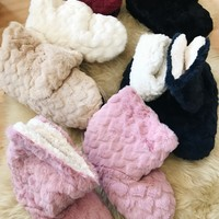 ARI FLEECE BOOT SLIPPERS- MORE COLORS