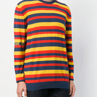 Loewe Striped Round Neck Jumper - Farfetch
