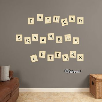 Scrabble Letters Collection Wall Decals by Fathead