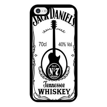 Jack Daniels White iPhone 5/5S/SE Case