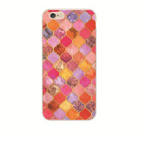 Warm Mosaic Pattern iPhone 7 and iPhone 7 Plus Case - Slim Fit & Mosaic Patterns