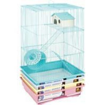 Prevue Pet Products Inc - 3 Story Gerbil & Hamster Cage