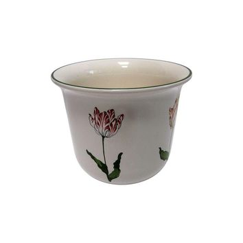 Pre-owned Tiffany & Co Tulip Cachepot Planter Pot