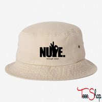 NUPE Enough said BUCKET HAT