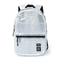 Stussy: Tarpaulin Lawson Backpack - Clear