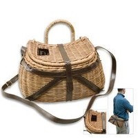 Antiqued Fly Fishing Creel