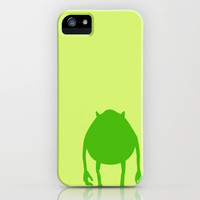 Monsters Inc. Mike iPhone Case by JessicaSzymanski | Society6