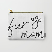 Fur Mom Carry-All Pouch by A_CreativeHaven