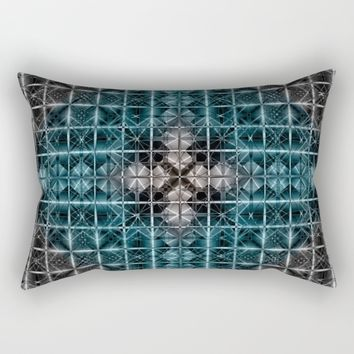 Abstract geometric BG Rectangular Pillow by VanessaGF | Society6