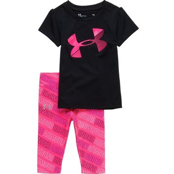 UA Wordmark Capri Set - Infant Girls'