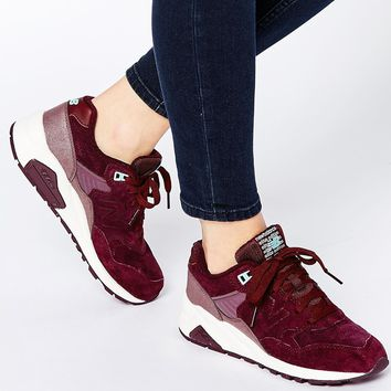 New Balance Meteorite Burgundy 580 Trainers