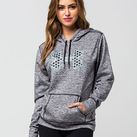 UNDER ARMOUR Big Logo Twist Womens Hoodie | Sweatshirts & Hoodies