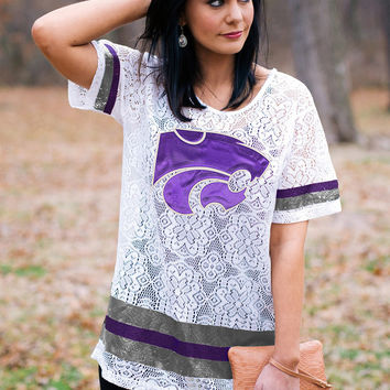 GAMEDAY Lace Jersey - KANSAS STATE