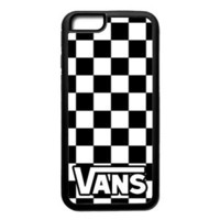 New Vans Logo Chess Pattern Hard Protect Case For iPhone 6 6s 7 7 Plus Cover