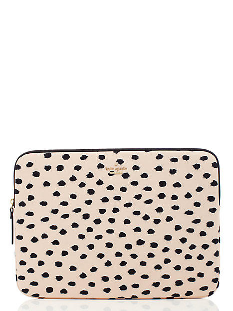 competitive price 32124 1e80e Kate Spade Renny Drive Laptop Sleeve Shell Pink ONE