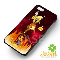 Supernatural Dean Sam Winchester Castiel saving him from the hell -55tL for iPhone 6S case, iPhone 5s case, iPhone 6 case, iPhone 4S, Samsung S6 Edge