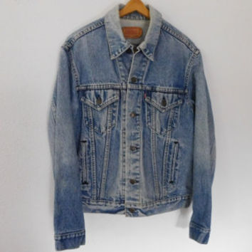 Vintage 80's levis Denim Jacket Distressed Jean Jacket