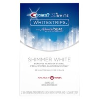Crest 3D White Shimmer White Whitestrips (Target Exclusive) -12ct