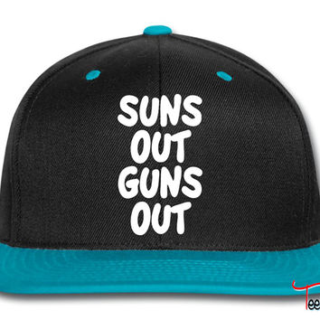 Suns Out Guns Out Snapback