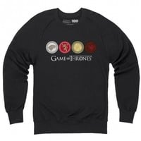 Official Game of Thrones - Houses Organic Crewneck Sweatshirt