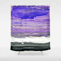 Storm Shower Curtain by Claudia McBain