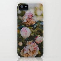 White Roses iPhone & iPod Case by Hello Twiggs